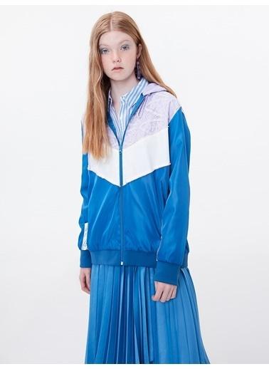 Twist Ceket Mavi